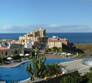 Vom Balkon auf den Ortsteil Sibora Hotel Luz Del Mar