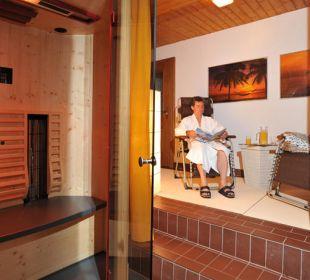 Wellnessbereich klein aber fein Gästehaus Flora
