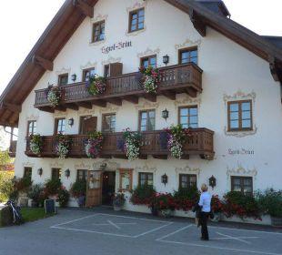Haupteingang Landhotel Hoisl-Bräu