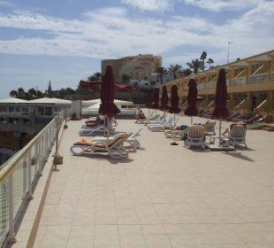 Nochmal die Sonnenterrasse Hotel Atlantic Beach Club