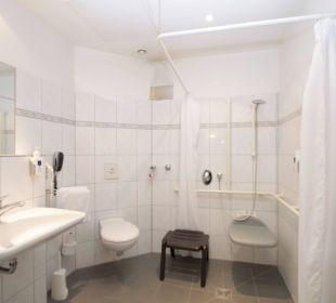 Badezimmer für Behinderte Hotel Tiergarten Berlin