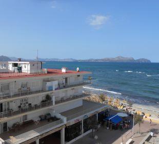 Ausblick Balkon JS Hotel Miramar