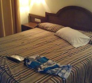 Ein Schlafzimmer Hotel Dorotea