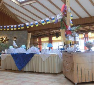 Beim Frühstück Suitehotel Monte Marina Playa