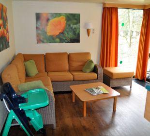 Wohnzimmer Premium Bungalow Center Parcs Het Heijderbos