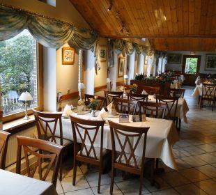 Unbesetztes Restaurant Hotel Bockelmann