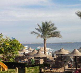 Blick auf das Meer Jaz Dahabeya