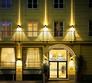 Hotel Facade K+K Hotel Maria Theresia