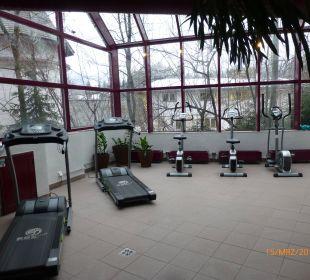 Fitnessraum Family Hotel Schloss Rosenegg