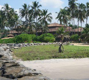 Haupthaus vom Strand Hotel Ranweli Holiday Village