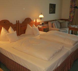 Sehr ordentliches Zimmer Hotel Zugspitze