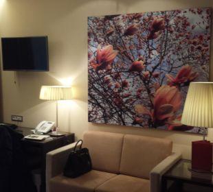 Couch  Austria Trend Hotel Savoyen Vienna