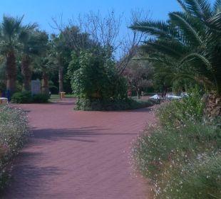 Weg zum Strand Sunis Elita Beach Resort