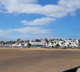 Ansicht von der Promenade Hotel Las Costas
