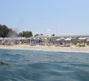 Vom Wasser aus  AKS Annabelle Beach Resort