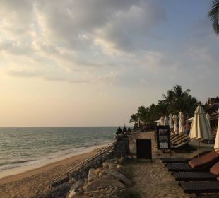 Abendaufnahme Hotel Mukdara Beach Villa & Spa Resort