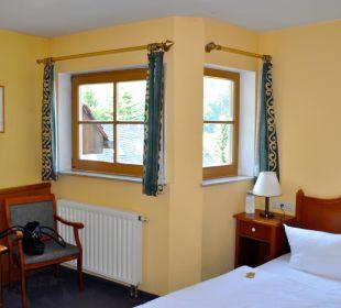 Fenster zum Innenhof Ettrich's Hotel