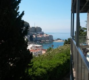Vom Balkon zum Meer Hotel Queen of Montenegro