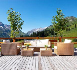 Sommer-Lounge Hotel Mohnenfluh