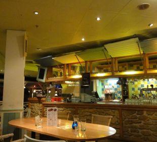 Die Bar bei der Bowlinganlage Center Parcs Park Zandvoort Strandhotel