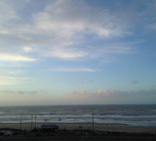 Ausblick aus dem Fenster Center Parcs Park Zandvoort Strandhotel