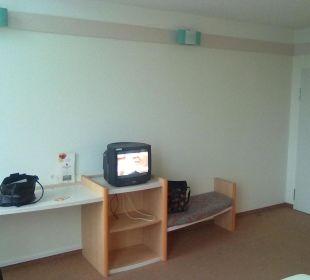 Blick vom Bett Hotel Ibis Bochum Zentrum