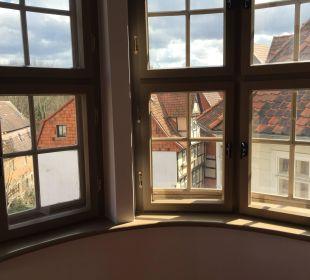 Ausblick zur Stadt Hotel Wyndham Garden Quedlinburg Stadtschloss