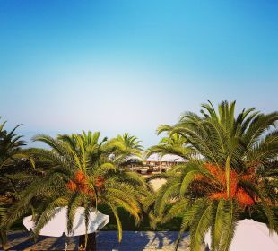 Ausblick vom 2. Pool Anthemus Sea Beach Hotel & Spa