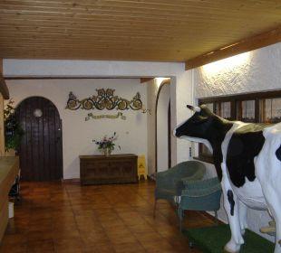 Hoteleigang Alpenhotel Schliersbergalm