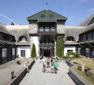 Haupteingang Hotel Forsthaus Damerow