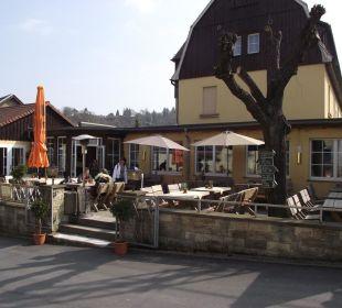 Aussenanlage Art Biergarten Ettrich's Hotel