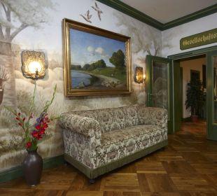 Ursprünglicher Eingangsbereich Hotel Forsthaus Damerow
