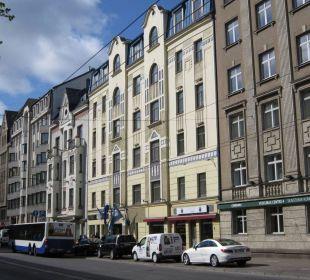 Street view PK Riga Hotel