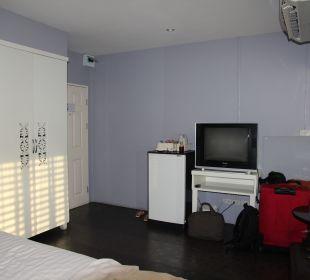 Mini-Bar, Fernseher, Kleiderschrank Hotel Lilac Relax-Residence