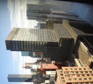 Blick aus dem Zimmer auf die Nachbarschaft Hotel Westin New York Grand Central