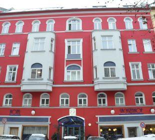 Fassade Hotel Sachsenhof Hotel Sachsenhof
