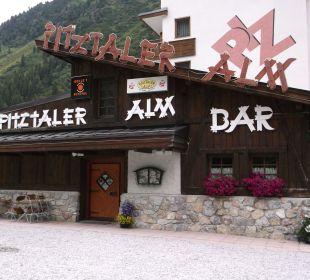 Leider war diese schöne Bar geschlossen Sportiv-Hotel Mittagskogel