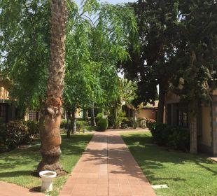 Gartenanlage und Wege Dunas Suites&Villas Resort