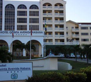 Außenansicht Hotel Quinta Avenida Habana