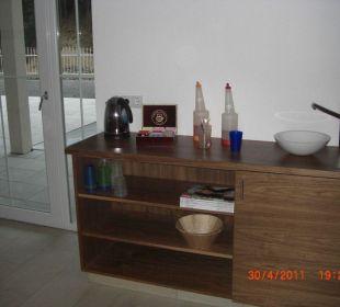 Saftbar in der Sauna Hotel Garni Alpenstern