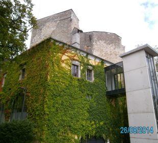 Lift vom Hotel in die Burg Hotel Schatz.Kammer Burg Kreuzen