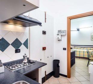 Cucina appartamento piccolo Hotel Cairoli