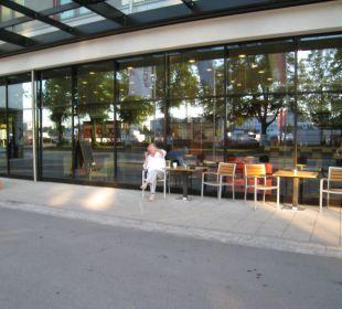 Aussenbereich Hotel Courtyard by Marriott München City Center