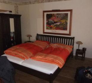 Zimmer 1 Das Doppelbett Hotel Landhaus Wremer Deel