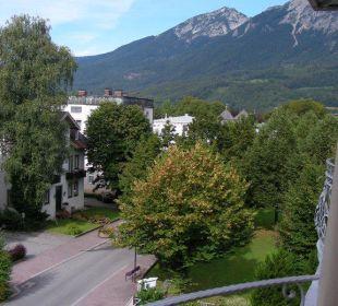 Straße hinter zur Fußgängerzone Hotel Pension Erika