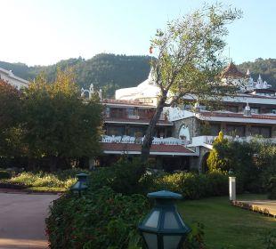 Vom Pool aus gesehen Martı Resort De Luxe