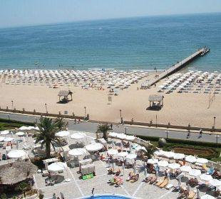 Strandansicht vom Hotel Victoria Palace Victoria Palace Hotel & Spa