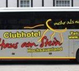 Der Abholservice Hotel Haus am Stein