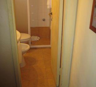 Badezimmer sehr klein Hotel Cosimo de Medici