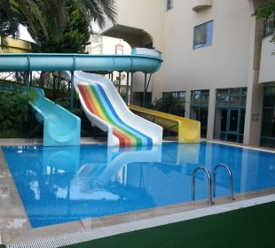 Pool mit Wasserrutschen Club Sidera (Vorgänger-Hotel – existiert nicht mehr)